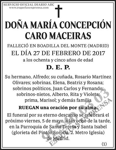 María Concepción Caro Maceiras